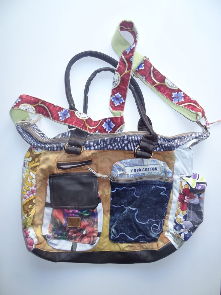 Old Cotton Cargo Bag - BAG#20 (59,- €)