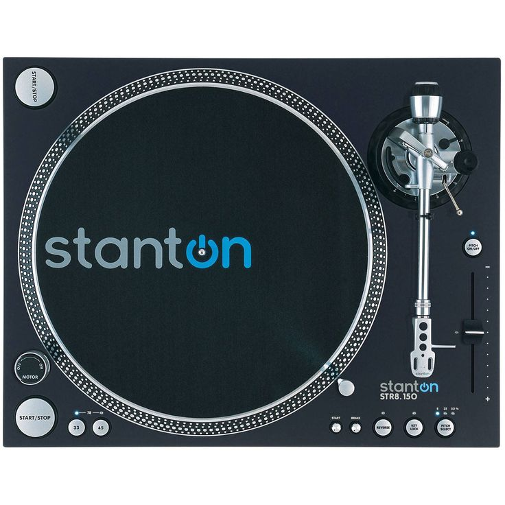 Stanton STR8-150 HP Super High Torque Digital Turntable Record Player