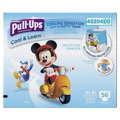 Huggies Pull-Ups Boys Cool and Learn Training Pants Giga Pack 4T-5T (56 ct)