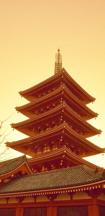 pagoda by tfuruhashii