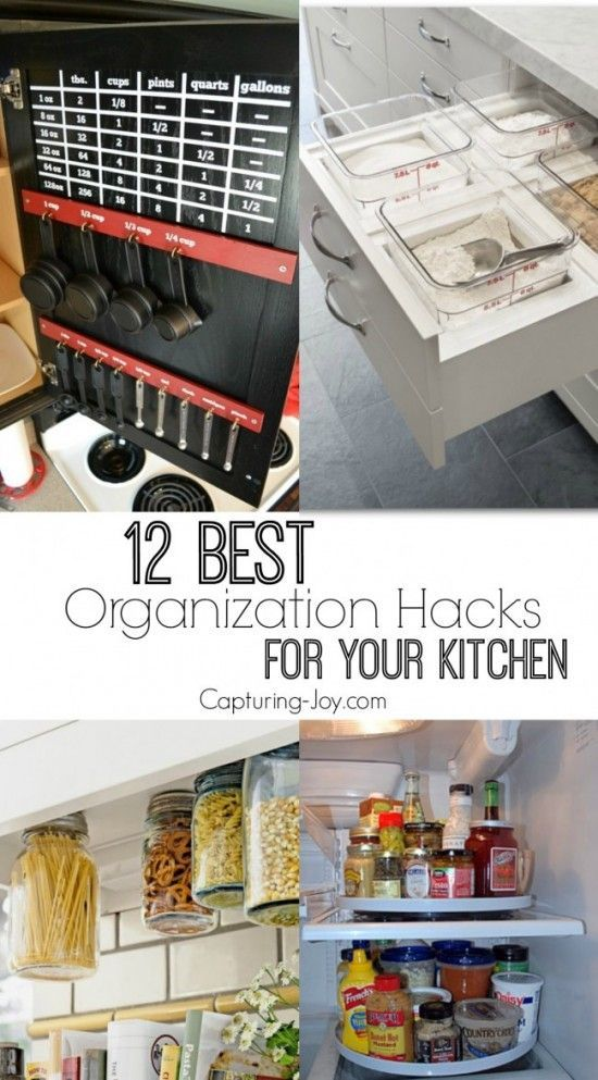12 best organization hacks for your kitchen blue lagoon