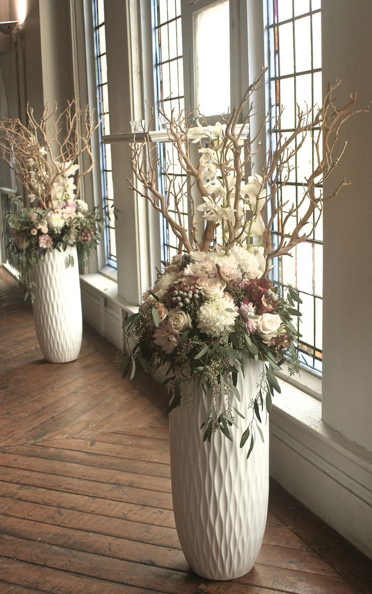 17 best ideas about tall vases on pinterest tall vases for Floor vase with flowers