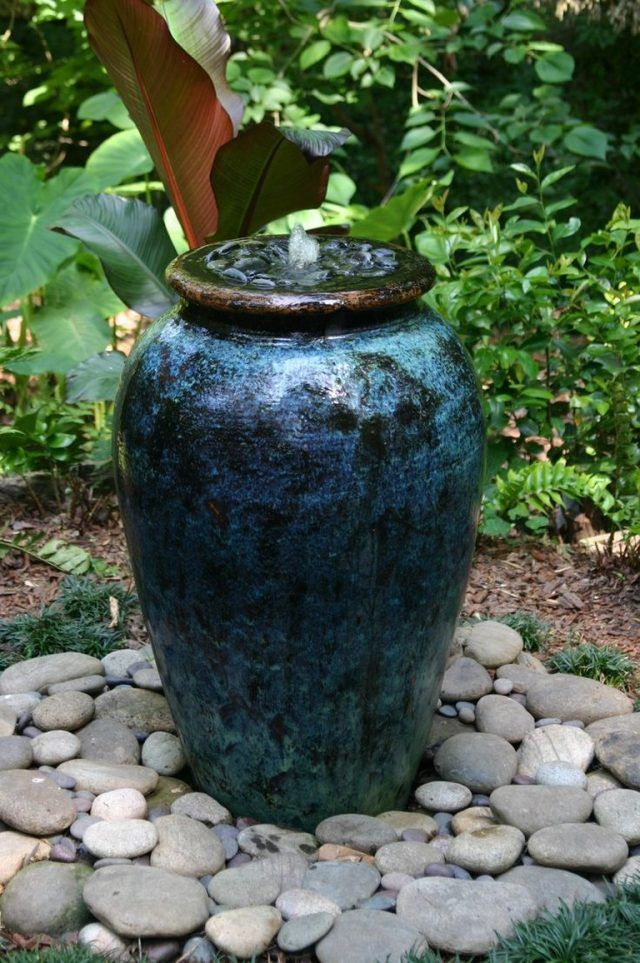 25 Creative Diy Water Features Will Bring Relaxation To Any Home Garden Water Fountains Water Features In The Garden Diy Water Feature