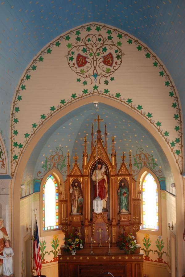 Sts. Cyril & Methodius Church, Dubina, Texas