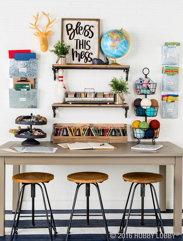 Keeping Your Workspace Organized And On Trend Is Easy With The Right Storage