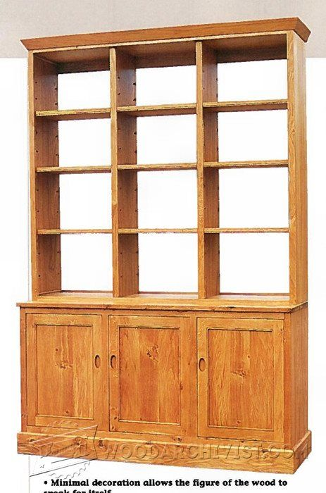 Oak Dresser Plans - Furniture Plans and Projects | WoodArchivist.com