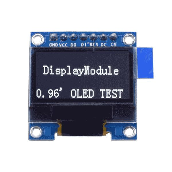 0 96 128x64 Monochrome Graphic Oled Display Module Spi