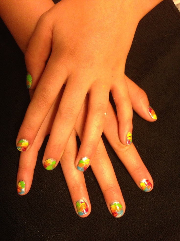 46 best Hand painted nail art images on Pinterest | Hand ...