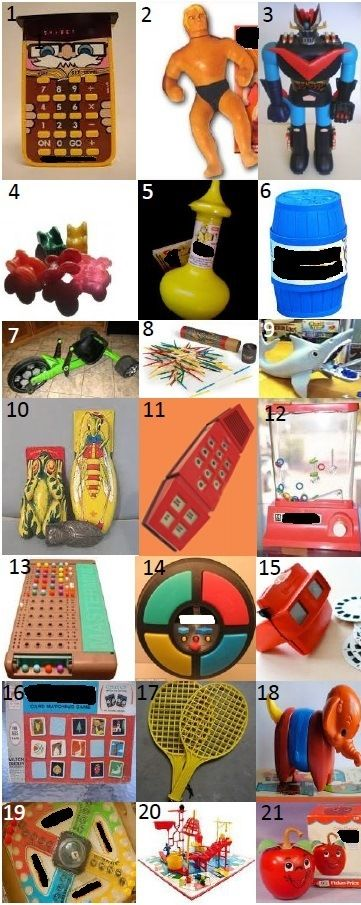 70s TOYS - Can you name these cool kids toys from the 70s?