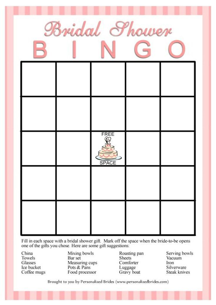 It's just a graphic of Superb Bridal Shower Bingo Free Printable