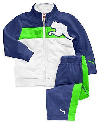 Puma Baby Boys' 2-Piece Jacket & Pants Set - Kids Baby Boy (0-24 months) - Macy's