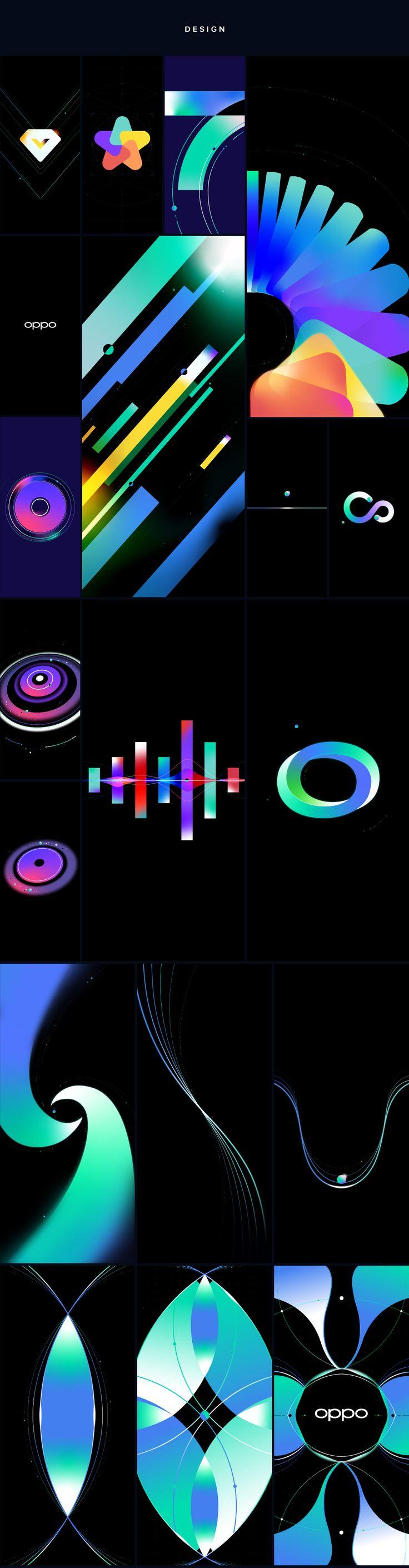OPPO Reno Screensaver Video on Behance in 2020 Screen