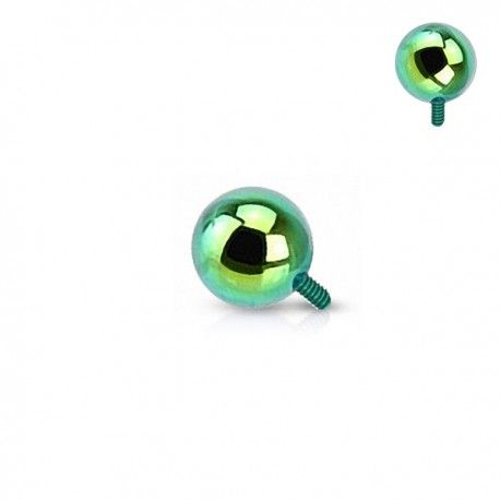 Microdermal bille Acier plaqué Titane vert 2,5mm https://piercing-pure.fr/p/558-microdermal-bille-acier-plaque-titane-vert-25mm.html #piercing #piercingdermal #dermal #microdermal #dermalanchor #piercingtitane #piercingvert #bijoux