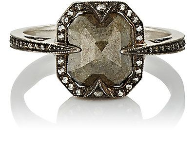 Cathy Waterman Mixed-Diamond Ring -  - Barneys.com