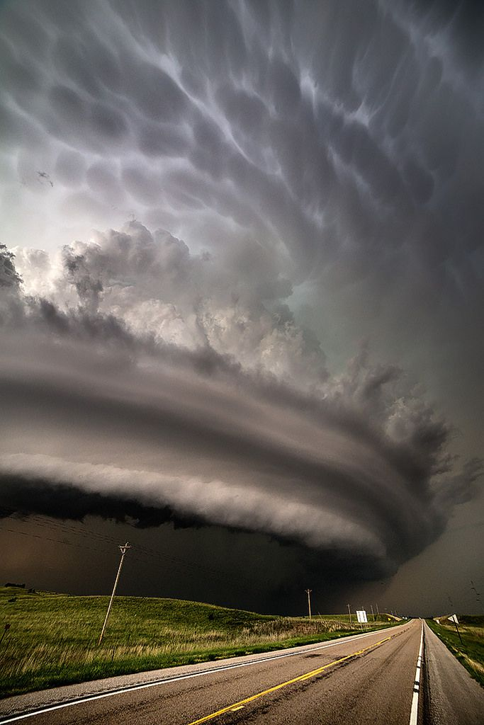 monster supercell burwell nebraska nature