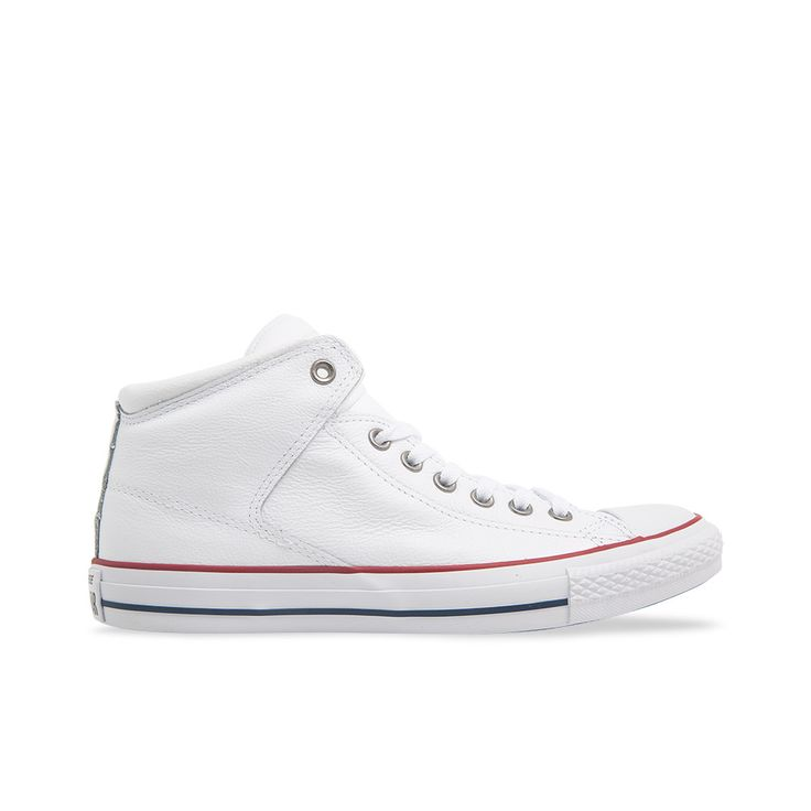 Chuck Taylor All Star High Street - White | Platypus Shoes