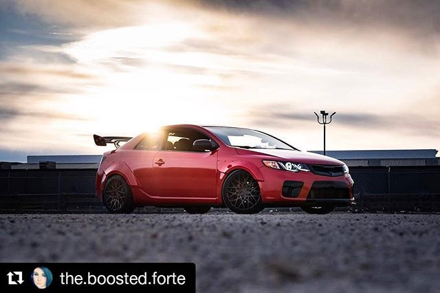 Repost The Boosted Forte Cant Wait To Head Over To Drivenshow In
