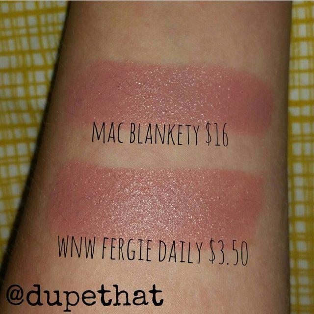 Blankety Mac Swatch Mac Blankety Dupes