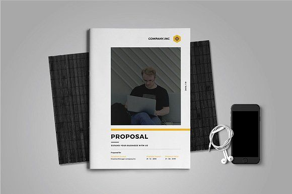 Proposal by Occy Design on @creativemarket #ProposalTemplate #design #webdesign #typography
