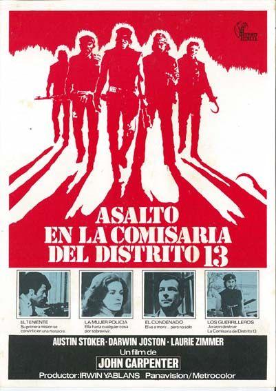 """Asalto en la comisaría del distrito 13 (1976) """"Assault on Precinct 13"""" de John Carpenter - tt0074156"""