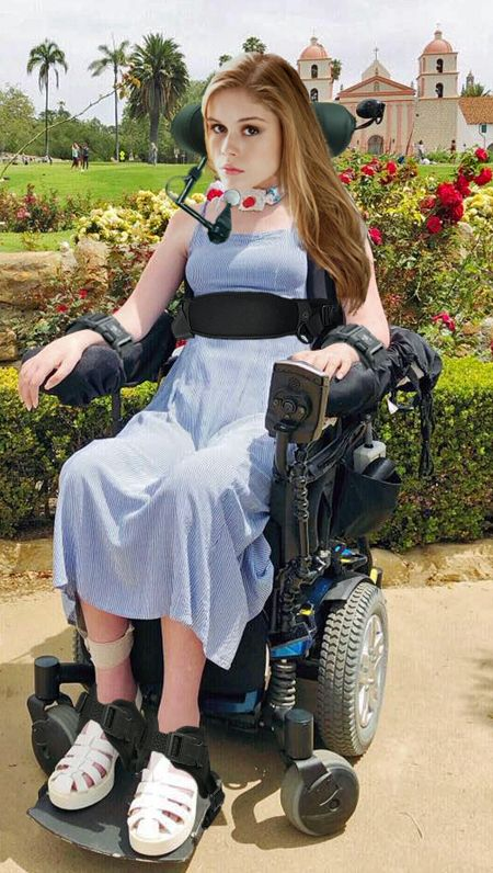 Quadriplegic 7 by WheelTobi on DeviantArt Wheelchair Photography, Braces Girls, Quadriplegic, Young Girl Fashion, Long Ponytails, Le Jolie, Sports Women, Pretty People, Sexy Women