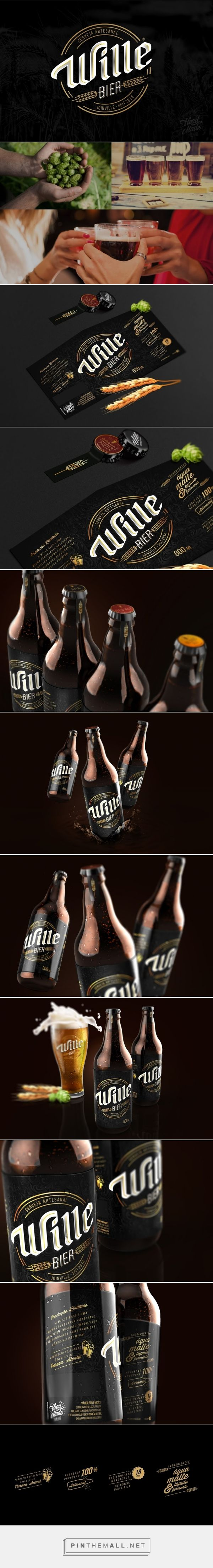 Wille Bier - Packaging of the World - Creative Package Design Gallery - http://www.packagingoftheworld.com/2016/06/wille-bier.html