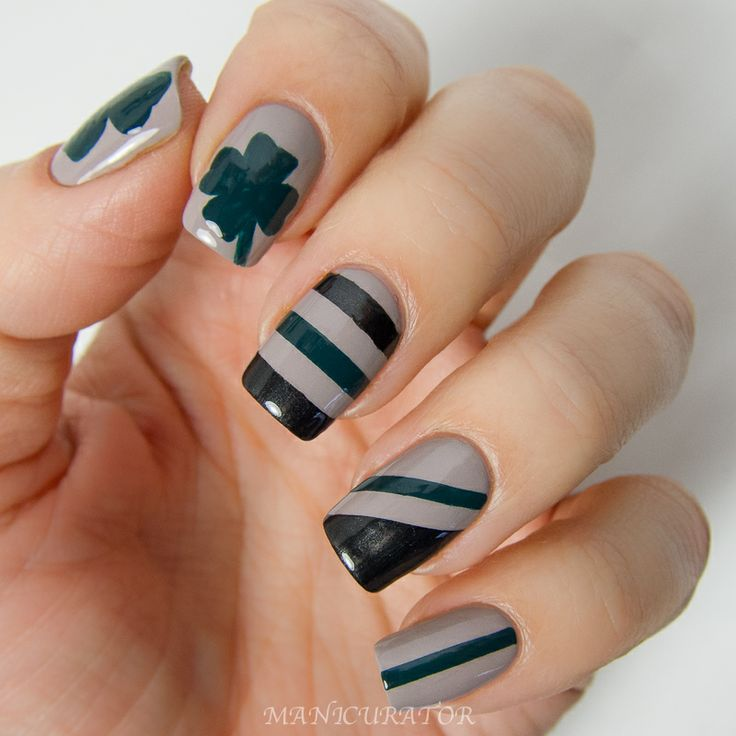 36 best MANICURATOR - Tape Nail Art images on Pinterest | Tape nail ...