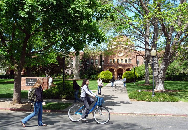 Downtown areas of college towns like Chico CA are filled w/ stores, services, eateries, etc. that appeal not only to students, but local residents & visitors