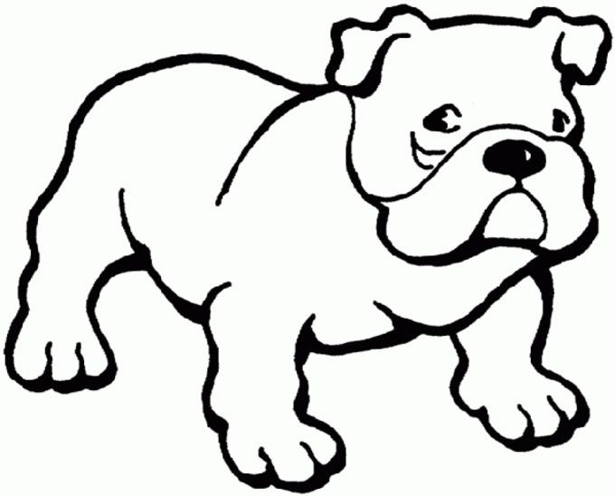 10 best pin images on Pinterest Animal stencil, Coloring books and - best of coloring pages baby dog