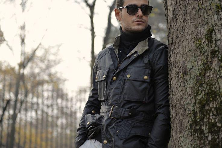 """Fifh picture in Frank Gallucci's blog post """"Inverno"""". Model: Frank Gallucci. Photograph: ChillaxingRoad."""