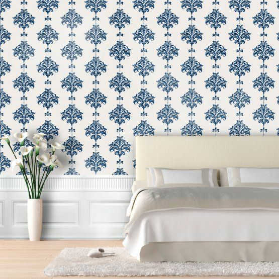 Swag Paper Ikat Self-Adhesive Wallpaper