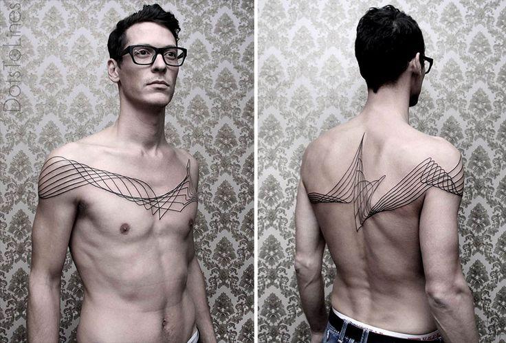 les Tatouages Géométriques de Chaim Machlev
