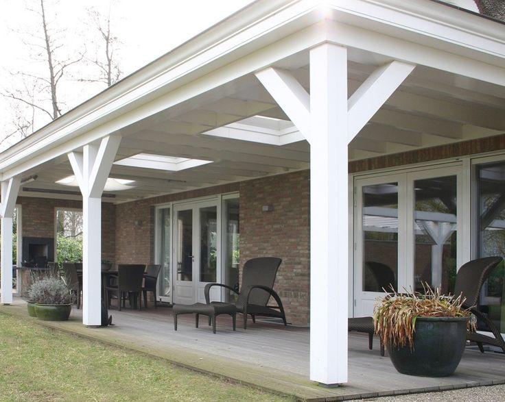 25 beste idee n over overdekte terrassen op pinterest patio decks en tuinoverkapping ontwerpen - Overdekte patio pergola ...
