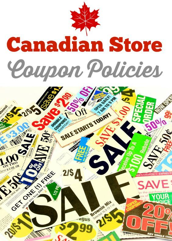 Canadian Store Coupon Policies -  huge list of coupon policies for popular stores in Canada!