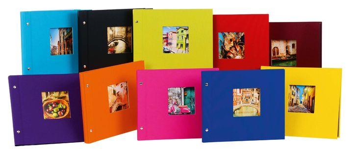 goldbuch Fotoalbum Bella Vista als erweiterbares Schraubalbum in mittelgroß