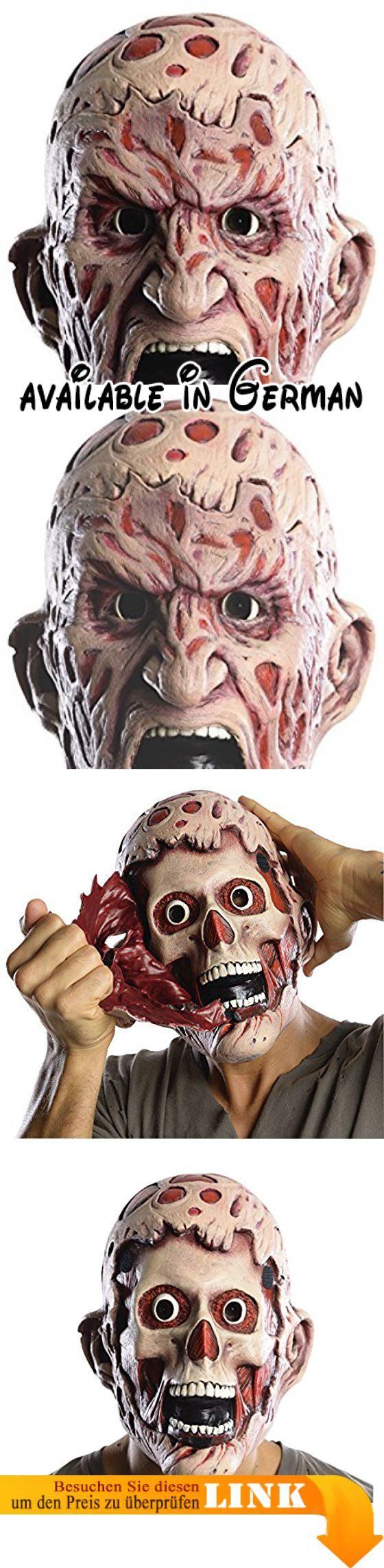 Freddy Krüger Doppel Gesichts Maske aus Nightmare. 36. Months #Toy #ADULT_COSTUME