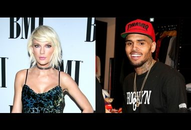 Chris Brown Wore the Exact Same Halloween Costume as Taylor Swift (Yes, For Real)