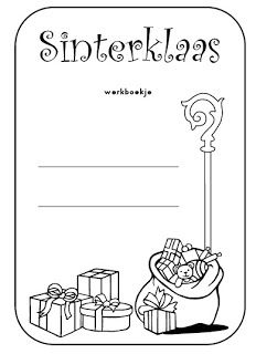 Juf Shanna: Sinterklaas werkboekje (gr 3&4)