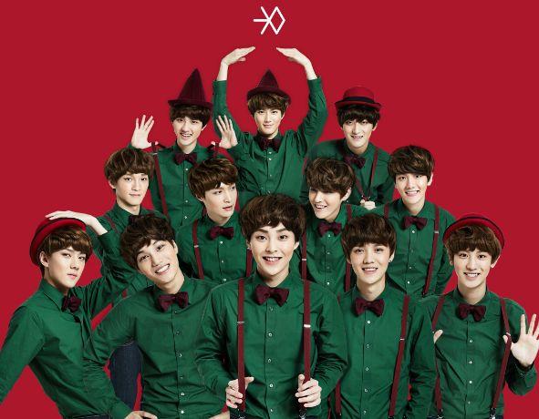 EXO! #sehun #luhan #kai #xiumin #chen #tao #chanyeol #baekhyun #kris #d.o #suho #lay