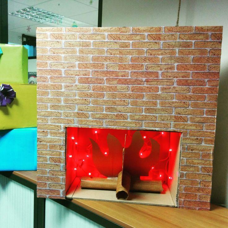 Les 11 meilleures images propos de d co blog laisseluciefer sur pinterest playmobil tuto - Acheter une cheminee en carton ...