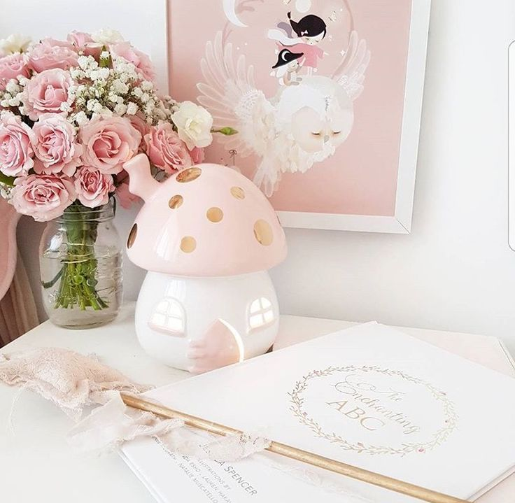 Pretty in spring 🌸📷 by @blessed_withmyloves featuring our fairy toadstool light 🌸 www.little-belle.com