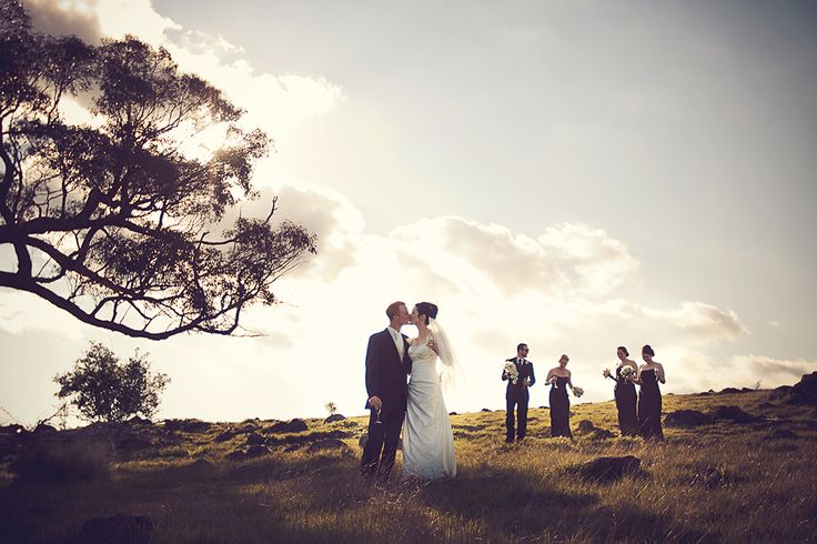 Country Victoria Wedding at Lancemore Hill, in the Macedon Ranges. Photo Credit: NJoy the Moment