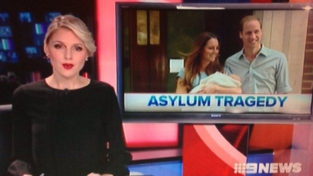 Or when Channel 9 ran with this: | 17 Times Australian News Was Too Much To Handle