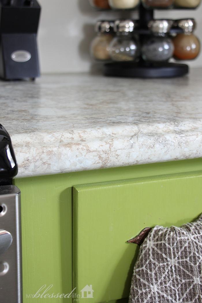 Beautiful Laminate Countertop With Undermount Sink
