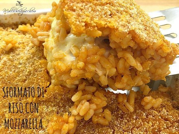 Sformato+di+riso+con+mozzarella
