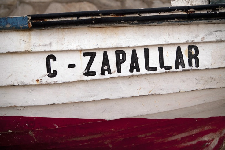 A boat. (Photo by Wilfred Wong, January, 21, 2012, Zapallar, Chile)