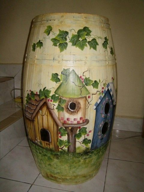 trash & rain barrel art | col. 11