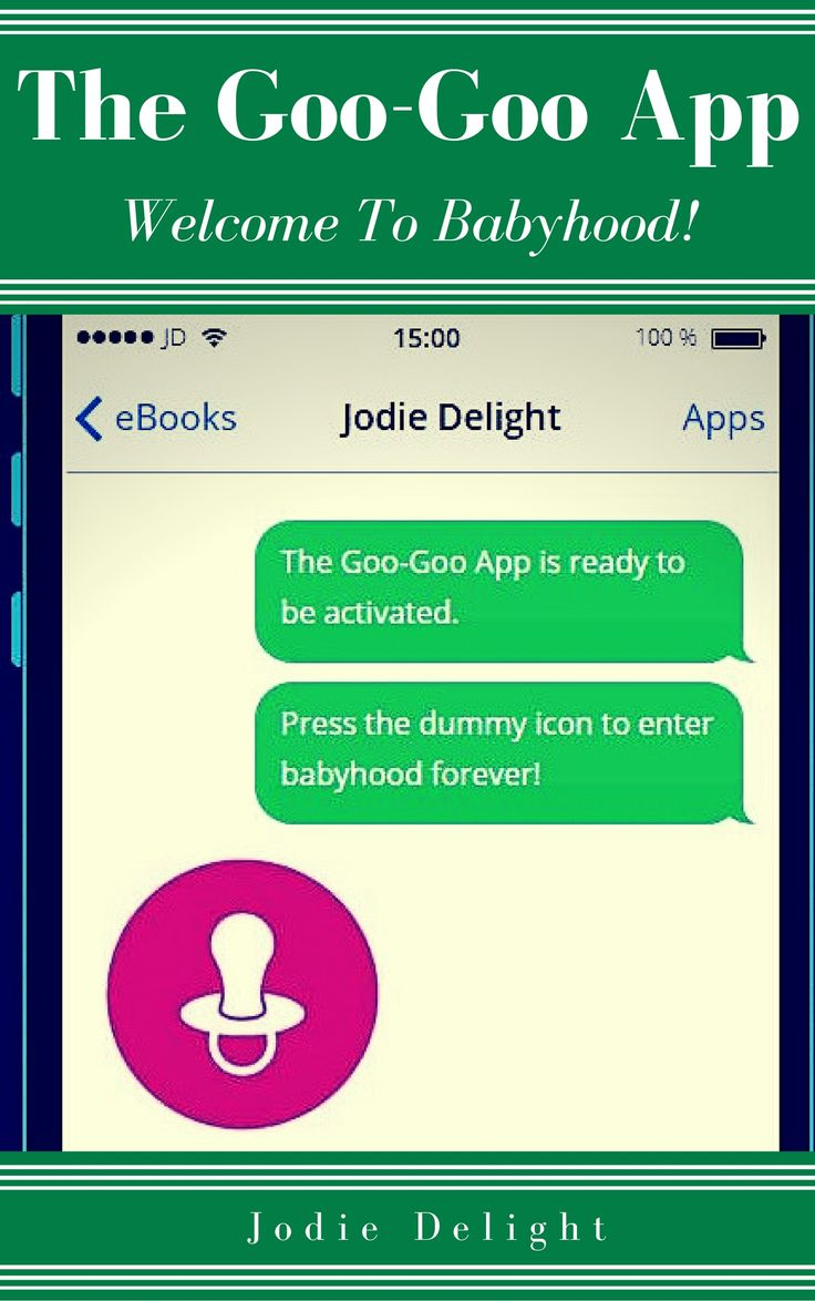 My 15th #abdl #Kindle #eBook 'The Goo-Goo App' is now available to buy & read on #amazon - #adultbabyboy #adultbabygirl #college #hypnosis #babyhood #infantilism #mentalregression