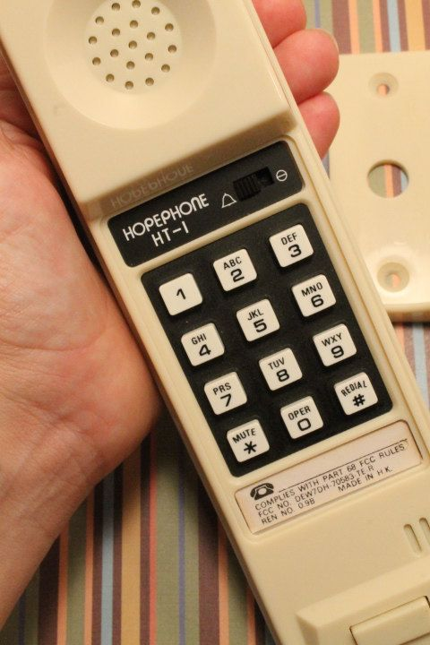 Wall Mount Telelphone Pushbutton Dial by ClockworkRummage on Etsy, $5.00