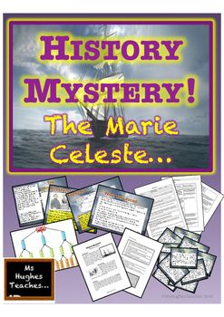 Can your class work out what happened to the crew of there Mary Celeste. Evaluate 12 popular theories and choose one in a knockout tournament! Then get them to justify their decisions!